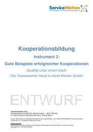 Kooperationsbildung Instrument 2 - Handwerkskammer Münster