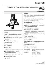 APPAREIL DE REMPLISSAGE AUTOMATIQUE EN CIRCUIT FERME