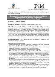 Bases Becas alumnos 2010 FCM.pdf - Facultad de Ciencias ...