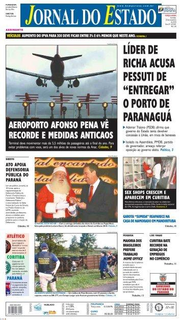 """LÍDER DE RICHA ACUSA PESSUTI DE """"ENTREGAR ... - Bem Paraná"""