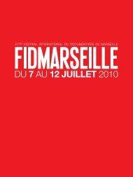 catalogue 2010 en .pdf - Festival international du documentaire de ...