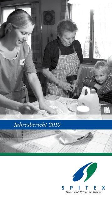 Jahresbericht 2010 - Spitex Burgdorf-Oberburg