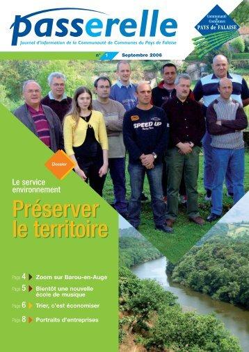 Voir le n°1 - Communauté de Communes du Pays de Falaise