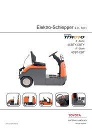 Elektro-Schlepper 2,0 - Toyota Material Handling Europe - Logon