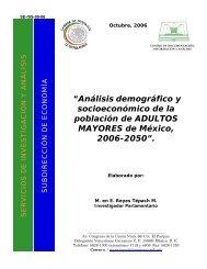 Análisis demográfico y socioeconómico de la población de adultos ...