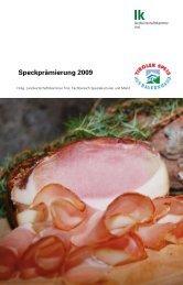und Speckprämierung 2009 (pdf)