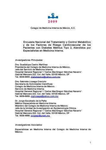 protocolo - Colegio de Medicina Interna de México AC | CMIM