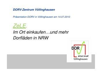 Präsentation Dorv-Zentrum Völlinghausen