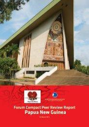 Papua New Guinea - Pacific Islands Forum Secretariat