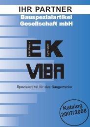 1 2 4 3 5 6 7 8 9 10 - Bauspezialartikel Gesellschaft mbH EK+VIBA
