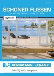 SCHÖNER FLIESEN - Bergmann & Franz