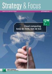 Cloud computing: koop de melk, niet de koe - BNP Paribas ...