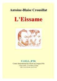 Antoine-Blaise Crousillat - Aix-Marseille I