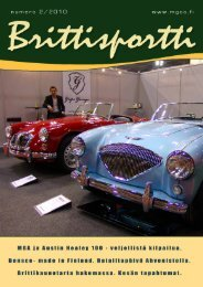 korjattu Brittisportti 2 2010 - MG Car Club Finland Ry