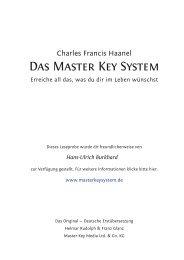 Das Master Key System - tophilfe.ch