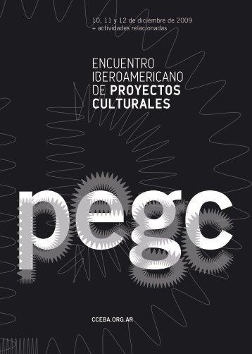 encuentro iberoamericano de proyectos culturales - cceba