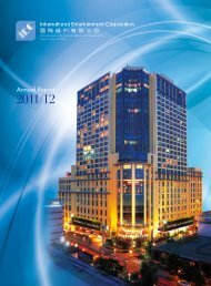 Annual Report 2011/12 - International Entertainment Corporation