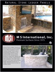 MSI Ledger Panel Collection 4-15-2013(Back)2 - Natural Stone