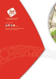 Workforce Development Kit - Community Services & Health Industry ...