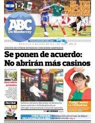 Se ponen de acuerdo: No abrirán más casinos - Periodicoabc.mx