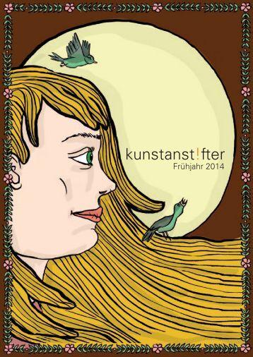Frühjahr 2014 - kunstanstifter Verlag