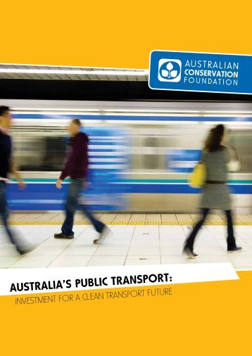 australia's public transport - Australian Conservation Foundation