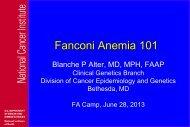 Alter_FA101_ 2013.pdf - Fanconi Anemia Research Fund