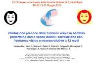 D. Romeo - Congresso 2010 - Società Italiana di Neonatologia