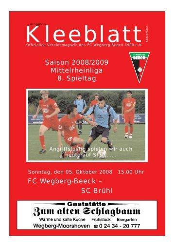 Ausgabe 4.qxd - FC Wegberg-Beeck 1920 e.V.