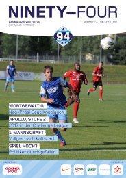 Ninety-four Nr. 54 / November 2012 (PDF 3.6 MB) - Zug 94