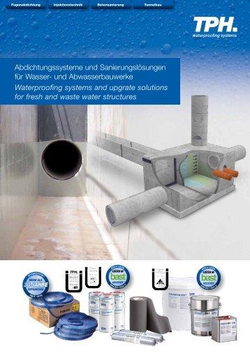 Abdichtungssysteme und Sanierungslösungen für Wasser- und ...