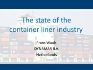 The state of the container liner industry - IMSF