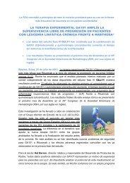 LA TERAPIA EXPERIMENTAL GA101 AMPLÍA LA ... - Diario Médico