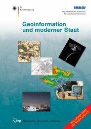 Geoinformation und moderner Staat - Wasser- und Schifffahrtsamt ...