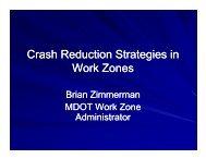 Crash Reduction Strategies in Work Zones - National Work Zone ...