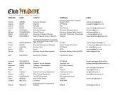 lista de prezenta - Club Feroviar Conferences