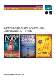 Scottish Children's Book Awards 2013 Older readers: 12-16 years