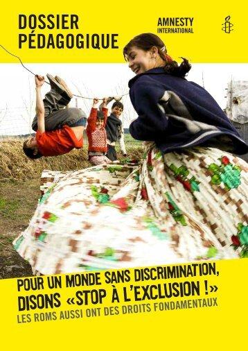 dossieR Pédagogique - amnesty.be