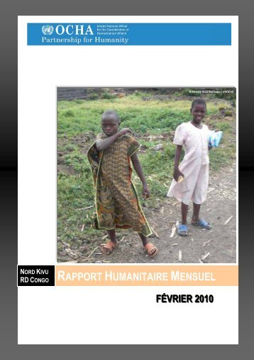 nord kivu rd congo rapport humanitaire mensuel février ... - ReliefWeb