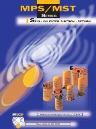 Pagine interne MPS/MST - MP Filtri
