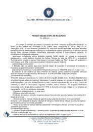 agenţia pentru protecţia mediului alba - Agentia pentru Protectia ...