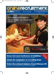 Issue 112 - May 2009 - Online Recruitment Magazine