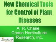 New Chemical Tools for Control of Plant Diseases