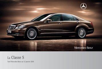 10 - S_Tarif - Sitesreseau.mercedes.fr - Mercedes-Benz France