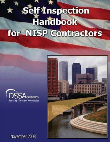 Self-Inspection Handbook - Florida Industrial Security Working Group