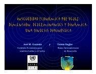 Dimensión, Determinantes y Dinámica: Una Síntesis Diagnóstica