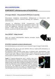 Sähköajoneuvojen latausasemien komponentit - KK-Sähkötukku Oy