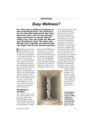 Easy Wellness?