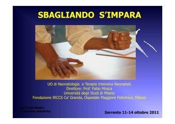 L. Del Mastro - SIN :: Congresso 2011