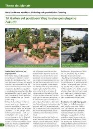 Thema des Monats - greenworks